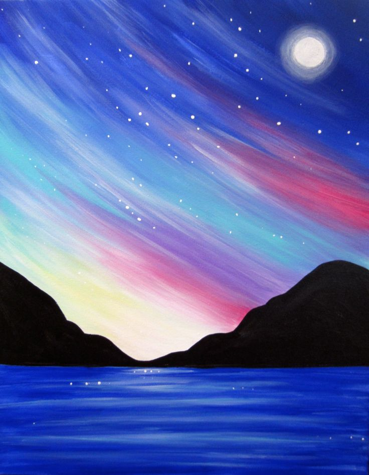 Bright Full Moon Paint Party Gallery 2910