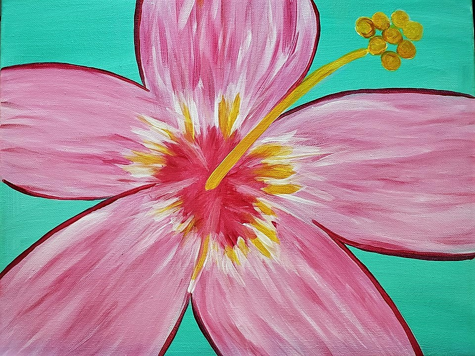Private Paint Party Hibiscus Flower Gallery 2910