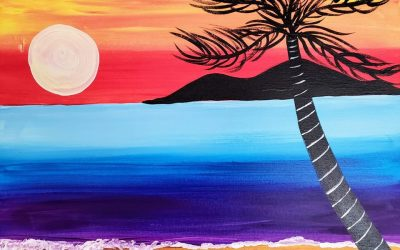 Private Paint Party (Tropical Sunset)