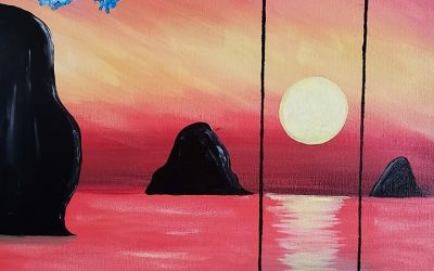 Private Paint Party (Calm Sunset)
