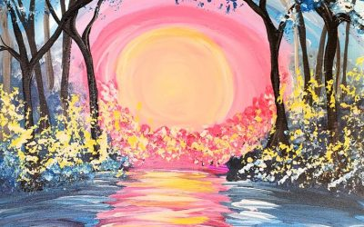 Private Paint Party (Pink Sunset)