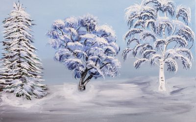 Private Paint Party (Winter Trees)
