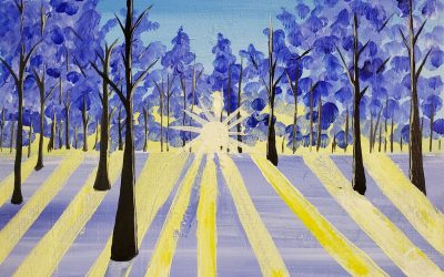 Private Paint Party (Snow Dawn)