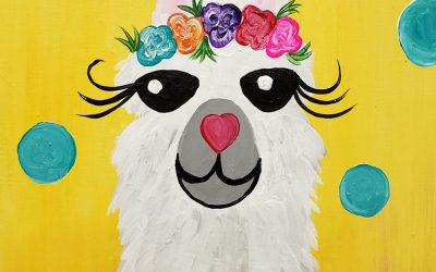 Private Paint Party (Llama Face)