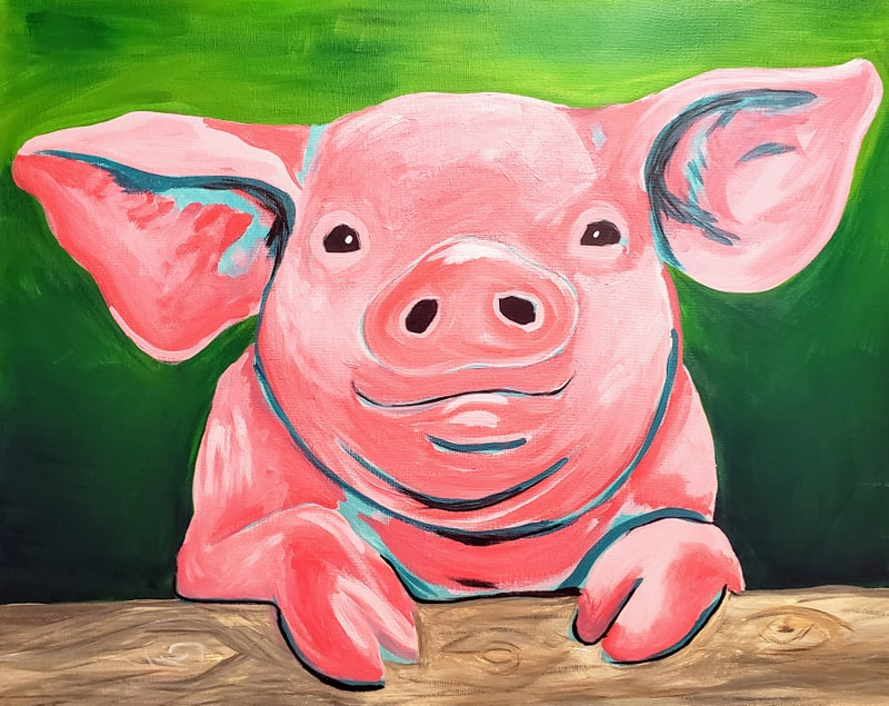 Private Paint Party (Poppy The Pig)