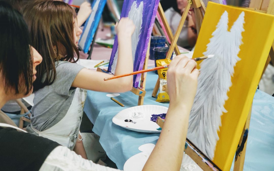 Mommy & Me Painting Class Valpo