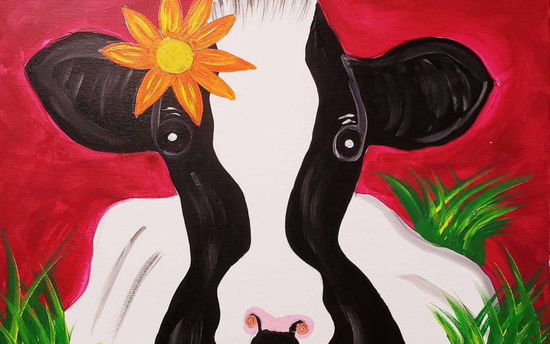 Private Paint Party (Betsy The Cow)