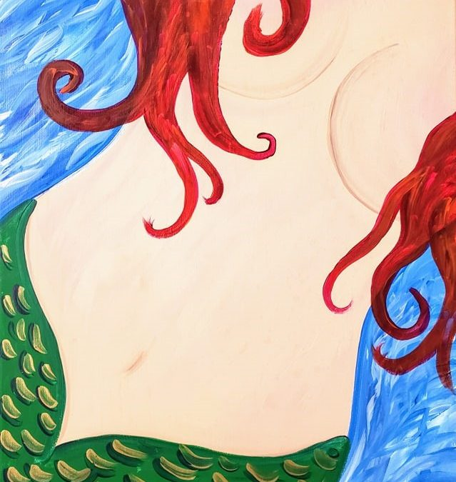 Private Paint Party (Mermaid Blue)